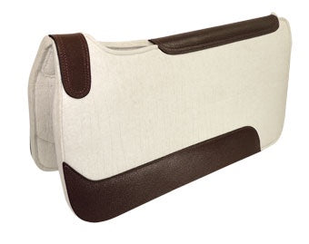 Competitor Work Saddle Pad 22mm White