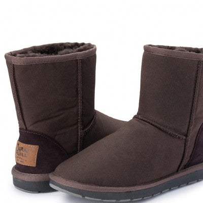 Woolly Oilskin Ugg Boots - Unisex