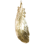 BOBO - Gold Hanging Feather