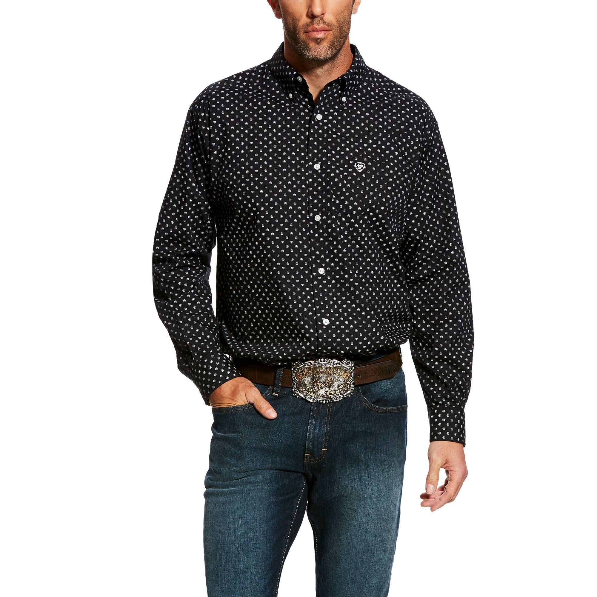 Ariat Mens Elwood Print Shirt