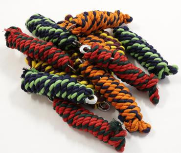Two Toned Cotton Lead Rope 8'