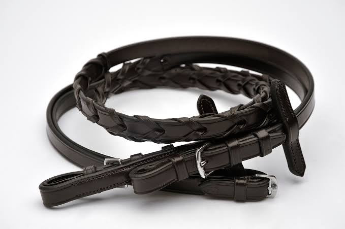 Leather Laced Reins