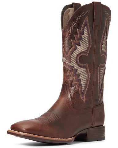 Ariat Mens Solando Venttek Dark Whiskey Boots