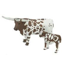 Big Country Toys Longhorn Cow & Calf