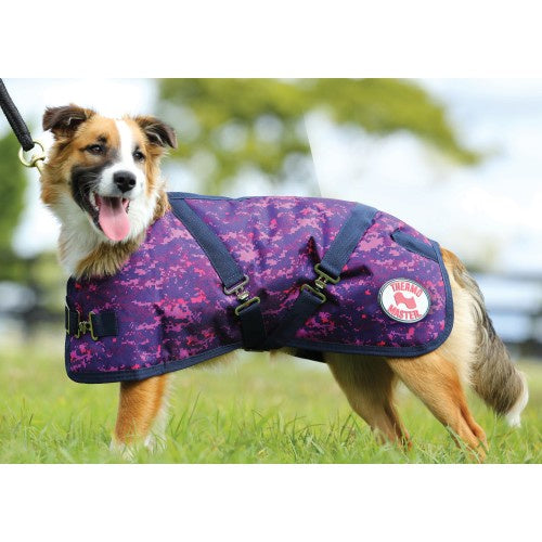 ThermoMaster Supreme Dog Coat Pixel Purple