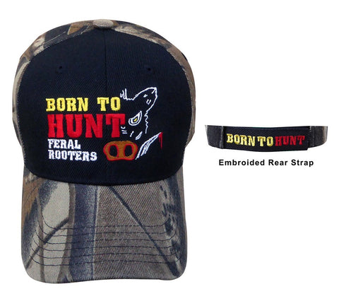 Born to Hunt Feral Rooters Cap