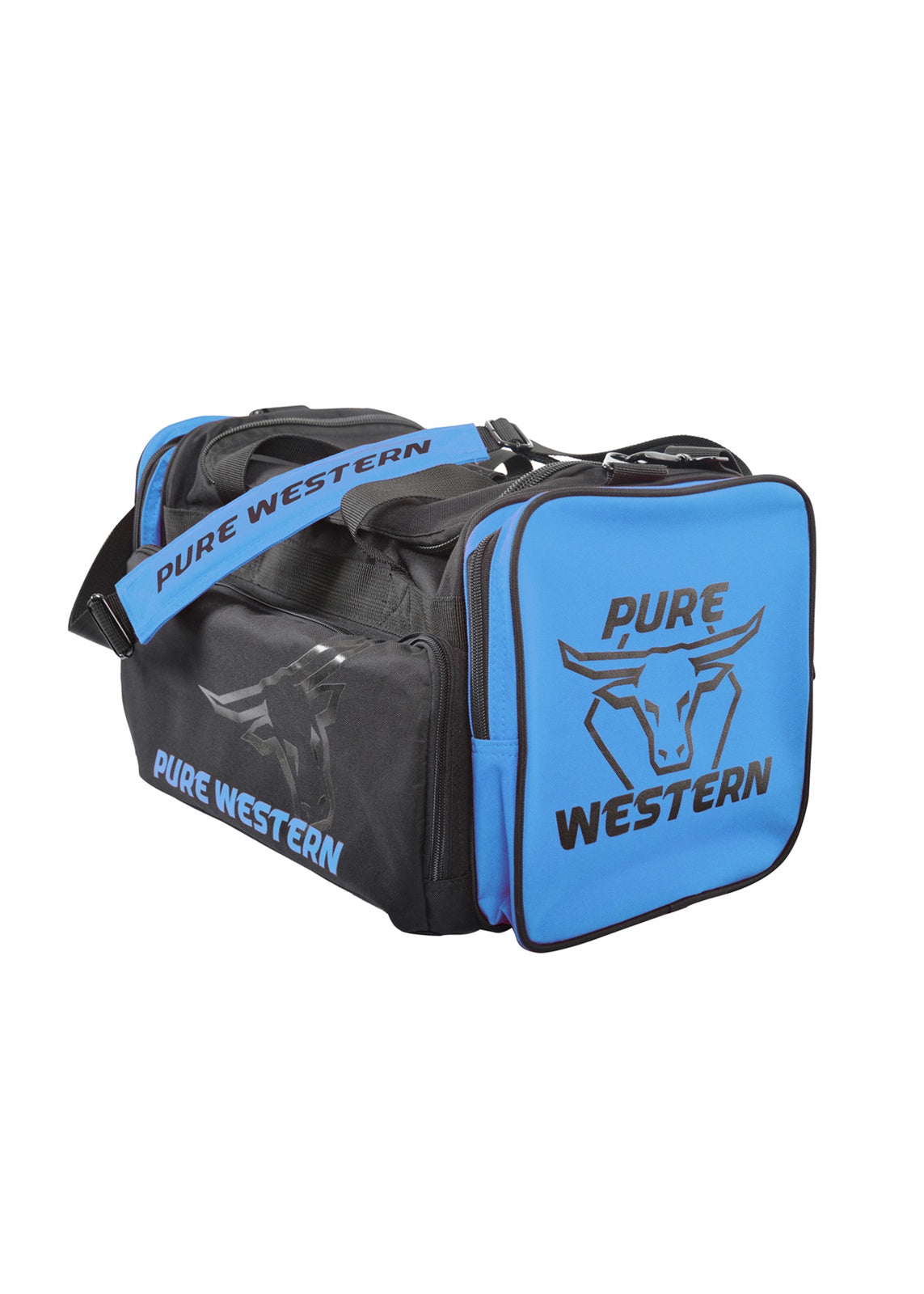 Pure Western Small Gear Bag  - Blue and Pink