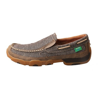 Twisted X Mens Casual Mocs Slip On Dust