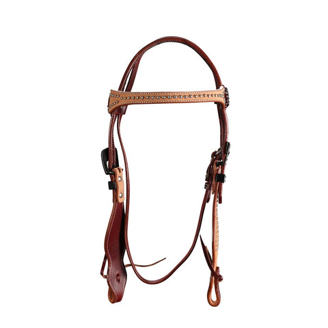 Fort Worth Rough Out Headstall