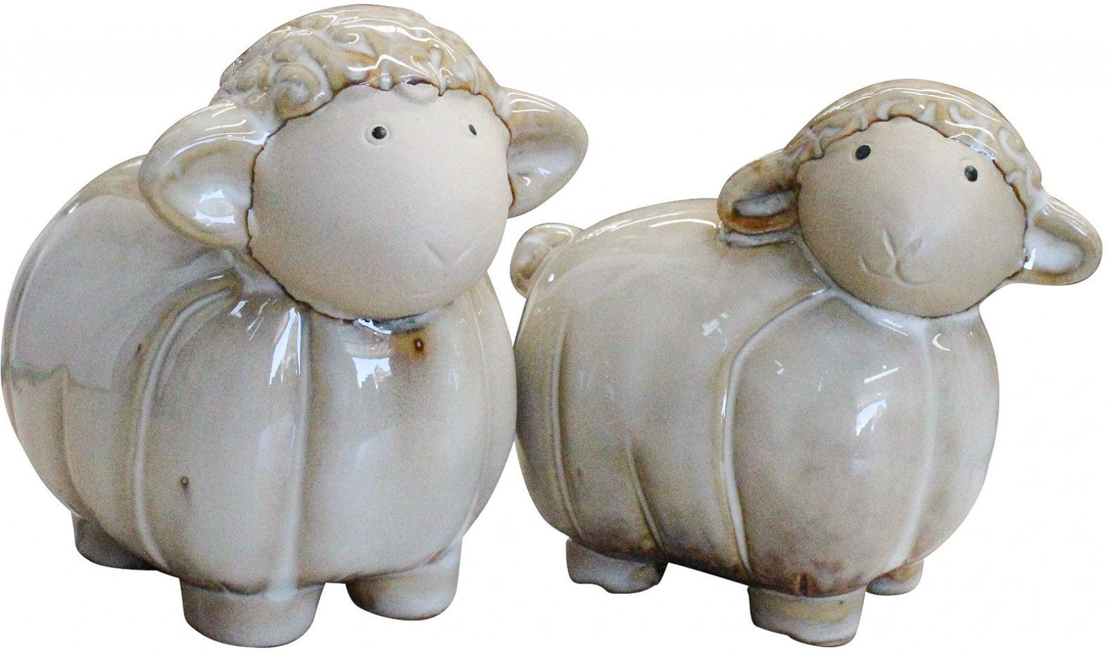Ceramic Sheep - Set of Two