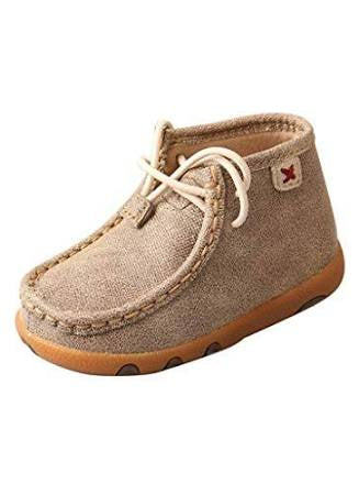 Twisted X Infant's Casual Mocs - Dusty Tan