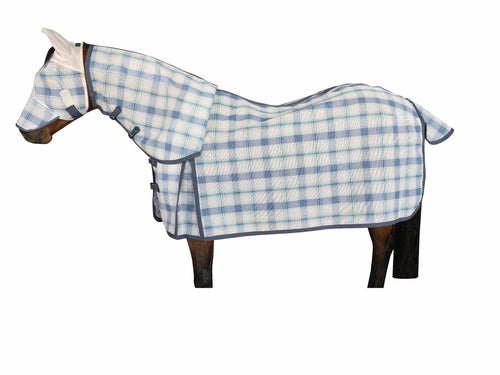 PVC Combo Rug with fly mask