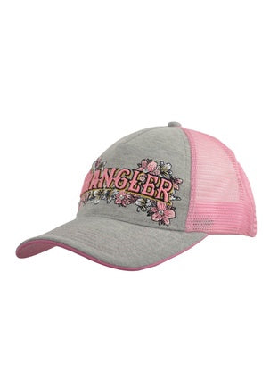 Wrangler Womens Light Grey Marle Katie Cap