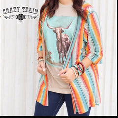 Crazy Train Harvest Colours Kimono