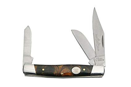 Rite Edge Large Stockmans Knife, Black Pearl Handle