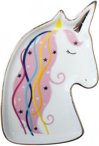 Ceramic Trinket Place - Unicorn