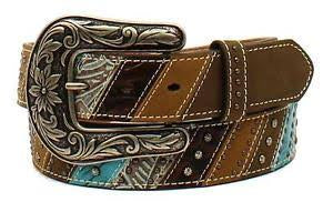 Ariat Womens Belt - Patchwork