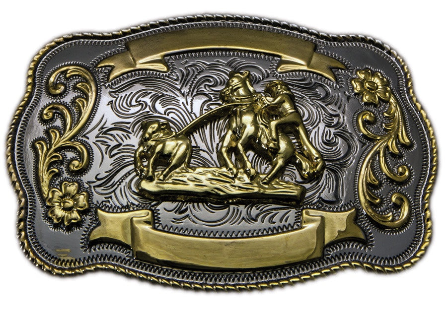 Trophy Buckle - Calf Roper
