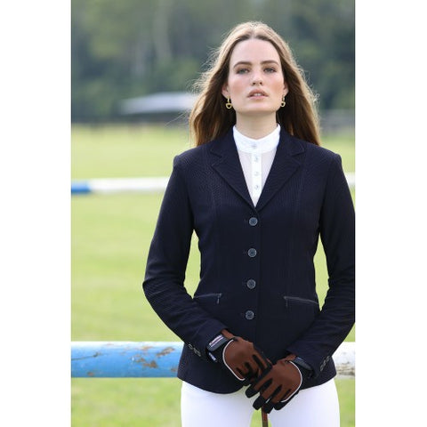 Huntington Nicki Kwik -Dry Riding Jacket - Navy