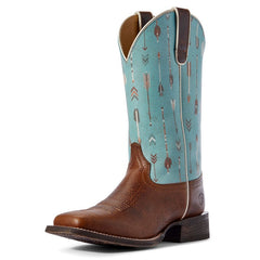 Ariat Circuit Savanna Turquoise Arrows