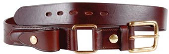 Stockmans Belt with Pouch  Square