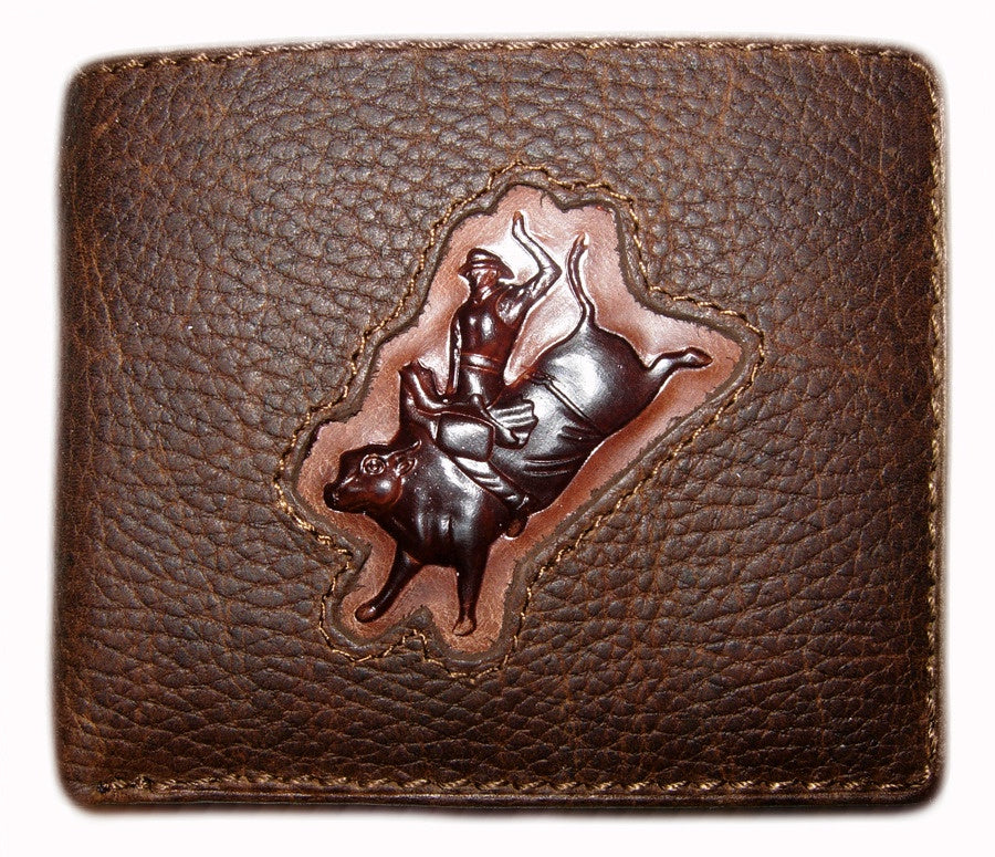 Men's Dress Wallet - Bull Rider Brand
