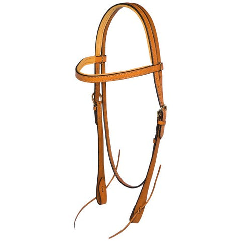 Fitzroy Padded Western Bridle - Full
