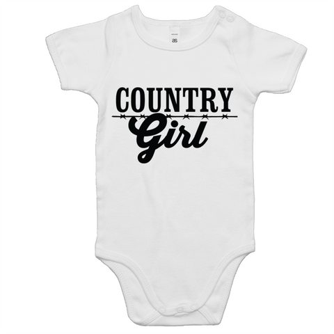 Country Girl Baby Onesie Romper