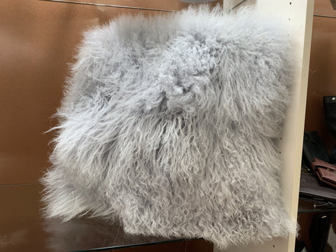 Mongolian Lambs Wool Cushion