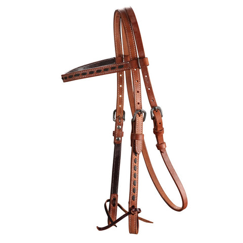 Fort Worth Buckstitch Headstall