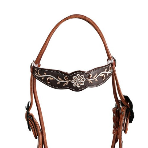Fort Worth Rustic Beauty Headstall