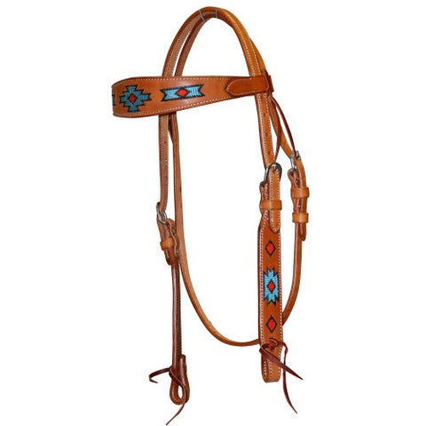 Fort Worth Native Indian Headstall