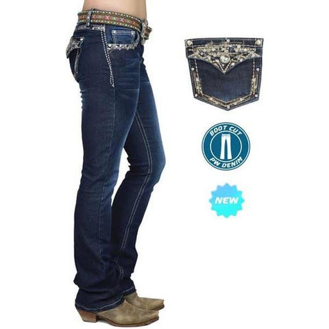 Pure Western Taylor Boot Cut Jeans - 34Leg