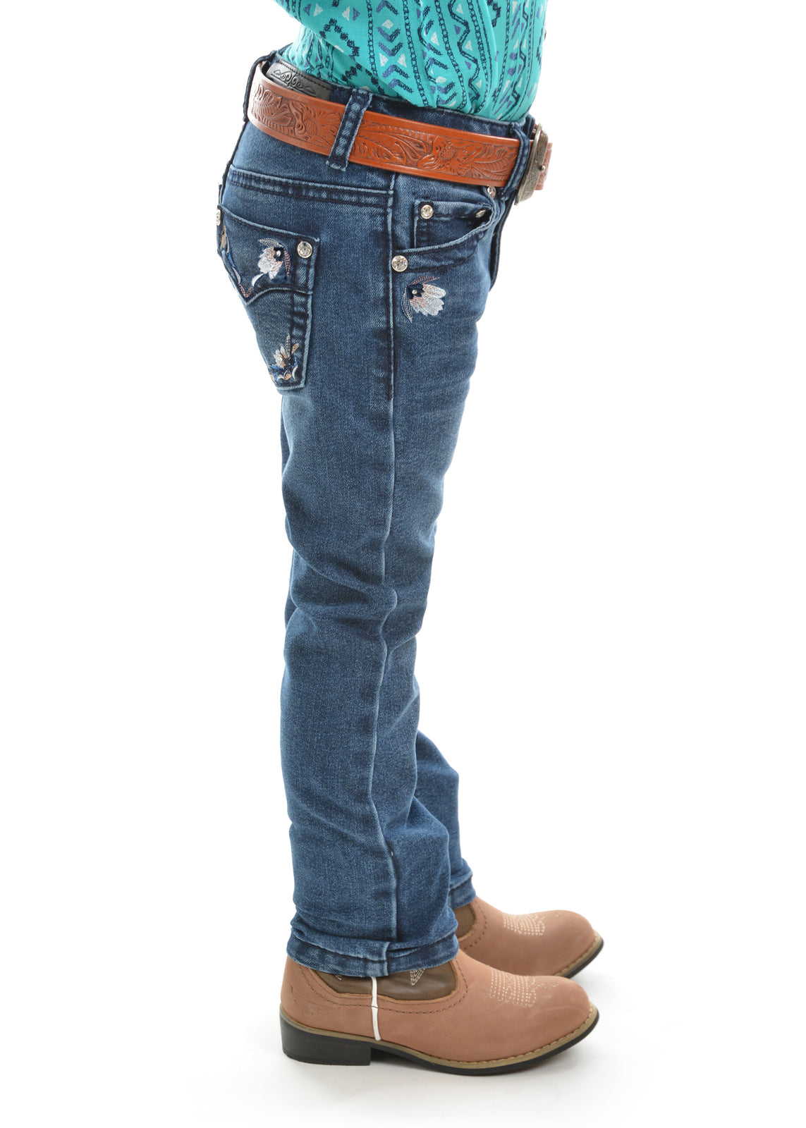 Pure Western Girls Tara Slim Leg Jeans