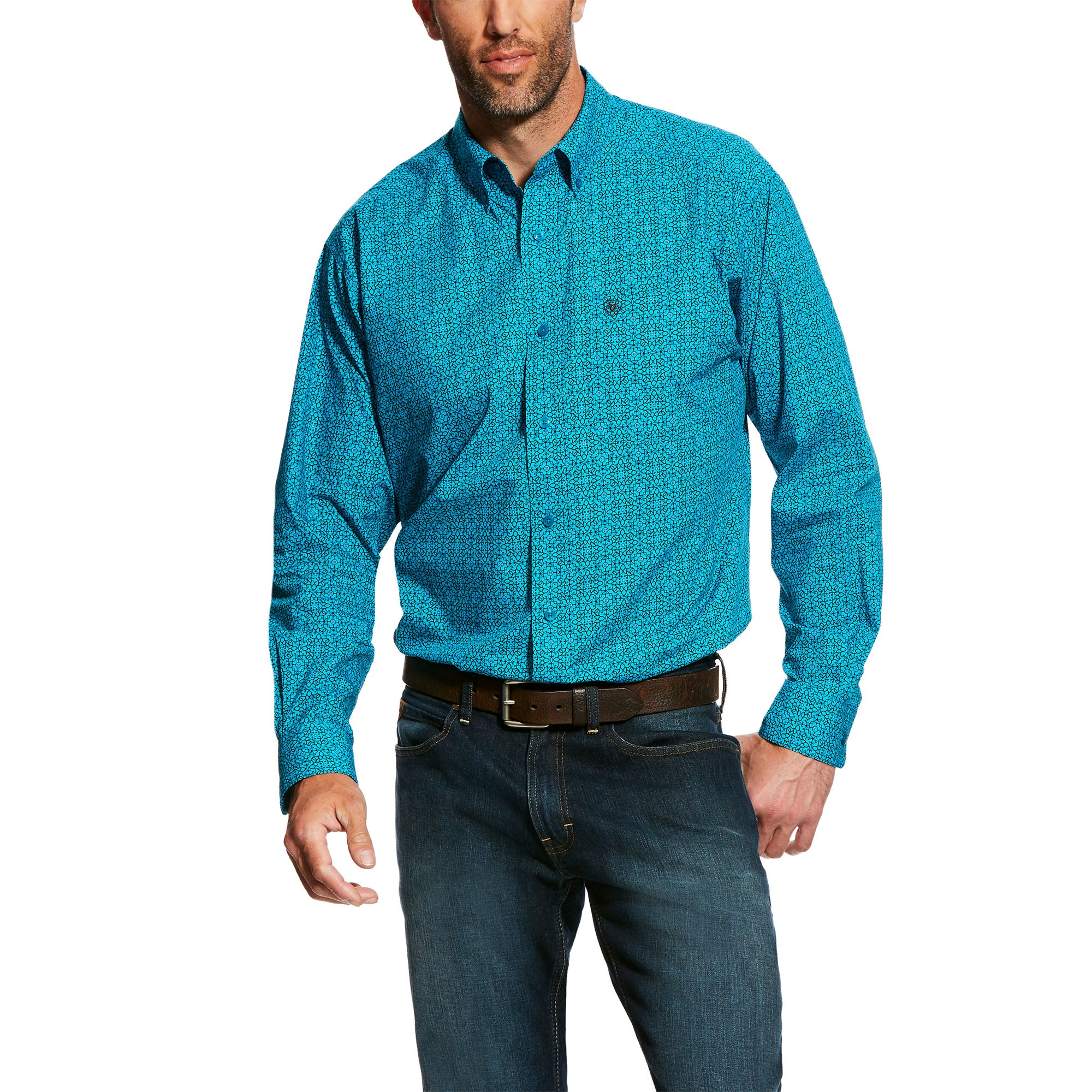 Ariat Mens Fennessey Print Shirt