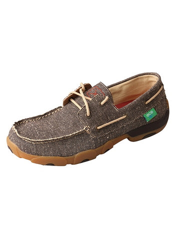 Twisted X Mens Driving Mocs Lace Up