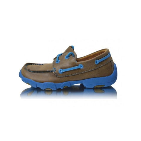 Twisted X – Children's – Driving Moc – Blue