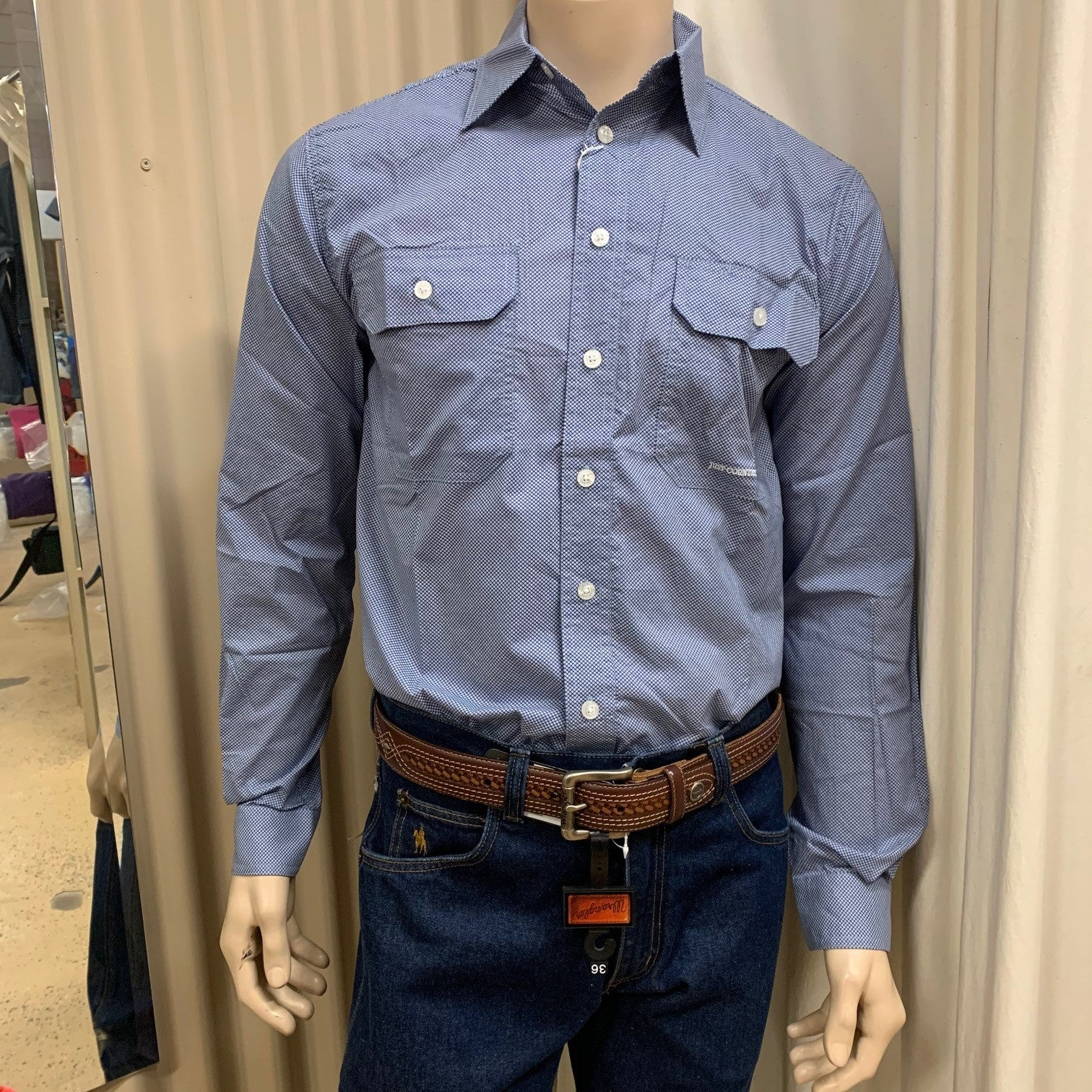 Just Country Austin Full Button Work Shirt