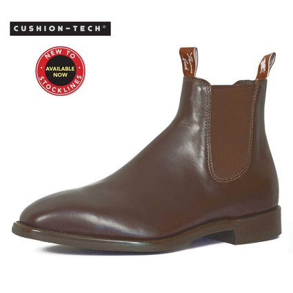Thomas Cook Mens Trentham Boots - Chestnut