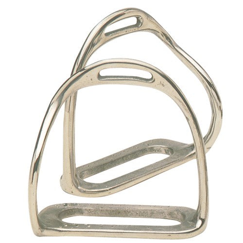 Equi-steel SS Bent Leg Safety Stirrup