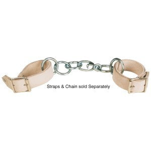 Ord River Chrome Leather Hobble Straps