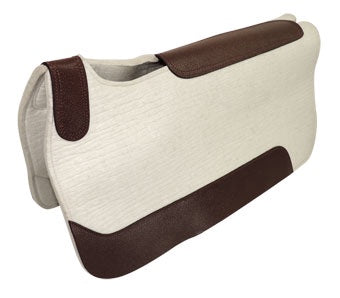Competitor Competition Saddle Pad 13mm White