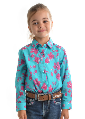 Pure Western Girls Annabelle Shirt