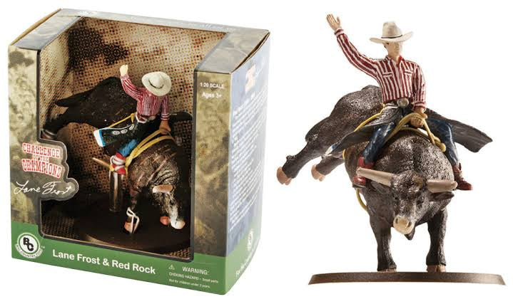 Big Country Toys Lane Frost & Red Rock