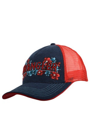 Wrangler Womens Navy & Red Katie Cap