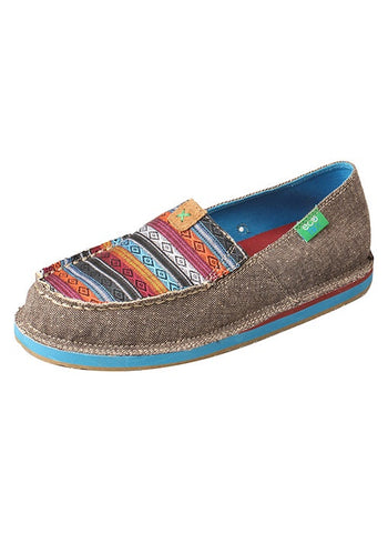 Twisted X Womens Eco Driving Moc Loafer Multi