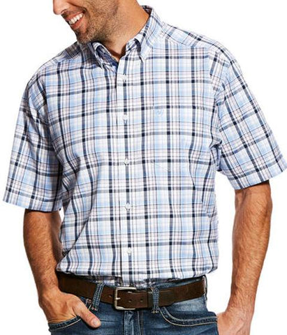 Ariat Mens Dewville Short Sleeve Performance Shirt