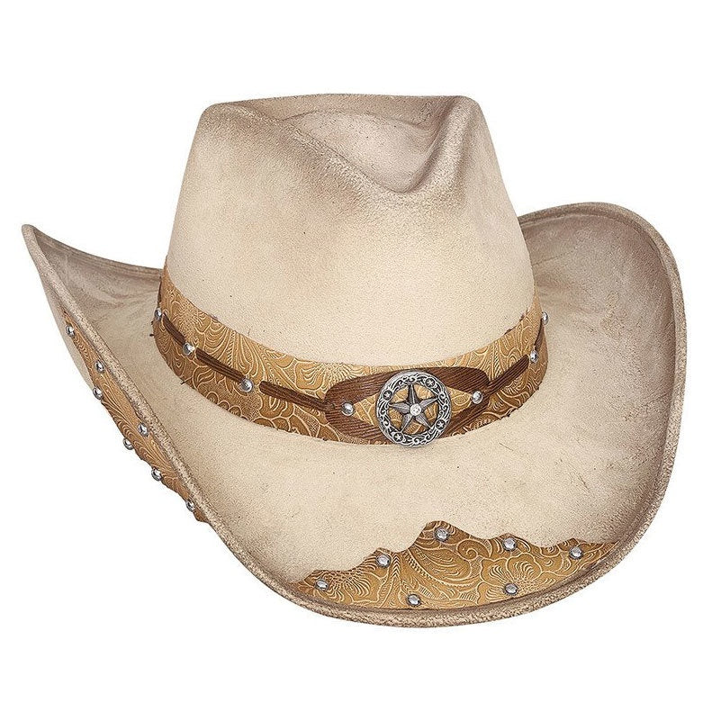 BULLHIDE Kick the Dust Off Faux Buckskin Hat