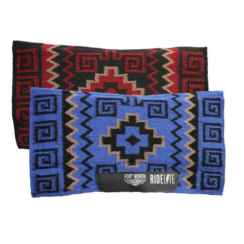 Fort Worth Ride-Lite Contoured Zigzag Saddle Pad