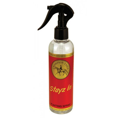 Champion Tails Stayz In Plaiting Spray 250ml
